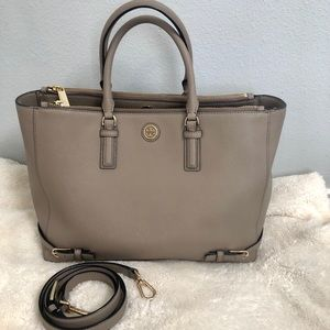 💥price drop💥Tory Burch Robinson Double-Zip Tote